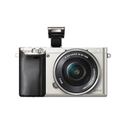 Sony A6000 Standard Zoom kit, Silver