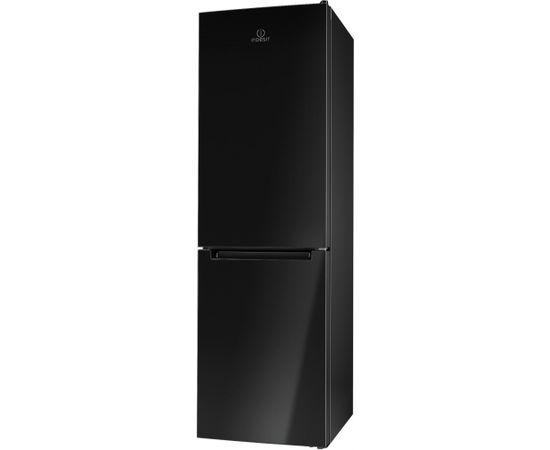 INDESIT LR8 S1 K Brīvi stāvošs 339L A+ Melns ledusskapis