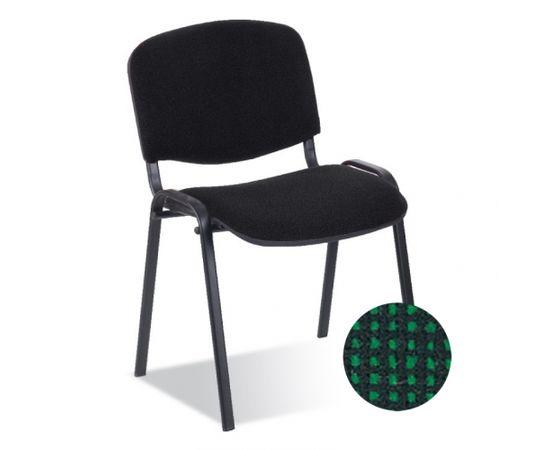 Krēsls NOWY STYL ISO BLACK C-32, melns ar zaļu