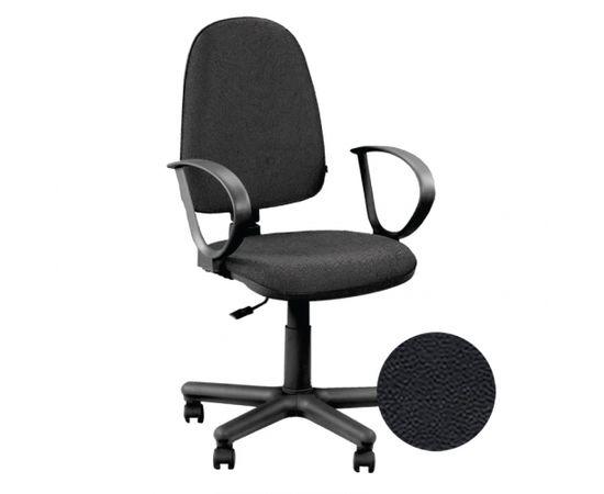 Krēsls NOWY STYL JUPITER GTP V-14, melnas ādas imitācija