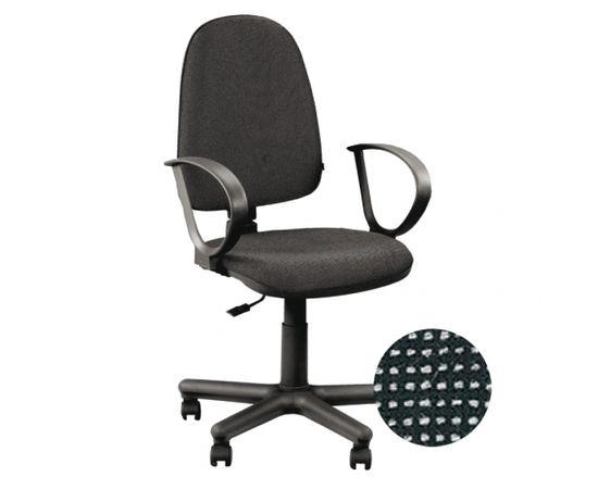 Krēsls NOWY STYL JUPITER GTP C-26, melns ar pelēku