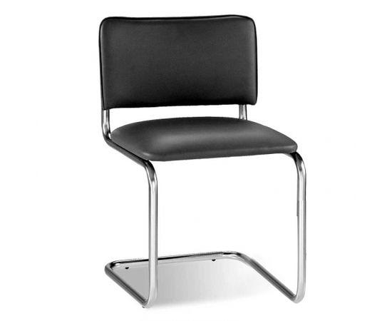 Krēsls NOWY STYL SYLWIA pelēka ādas imitācija V-28
