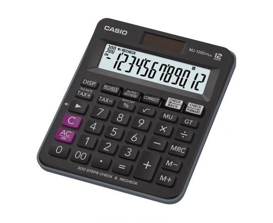 Galda kalkulators CASIO MJ-120+, 127 x 148 x 29 mm