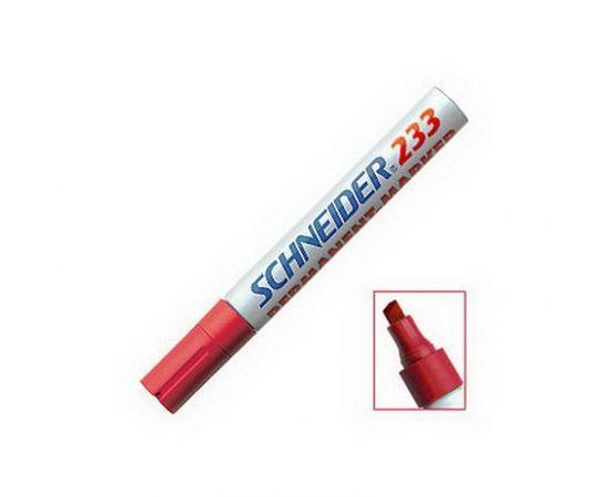 Noturīgais marķieris SCHNEIDER Maxx 233 slīps, 1-5 mm, sarkans