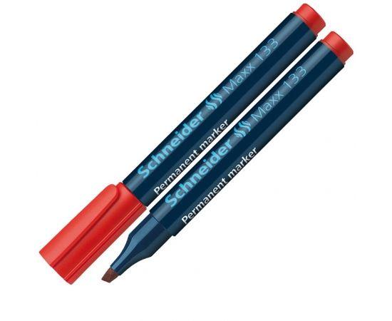 Noturīgais marķieris SCHNEIDER Maxx 133 slīps, 1-4 mm, sarkans