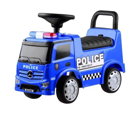"""Mercedes Police"", automašīna, zila"