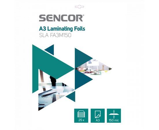 Sencor SLA FA3M150 Laminēšanas plēves A3 (25gab)