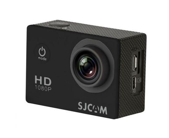 """SJCam SJ4000 Ūdendroša 30m Sporta Kamera 12MP 170 grādi 1080p HD 30fps 2.0"""" LCD Ekrāns Melna"""