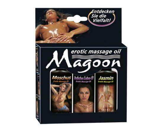Magoon masāžas eļļu komplekts (3 gab. x 50 ml) [ 50 ml ]