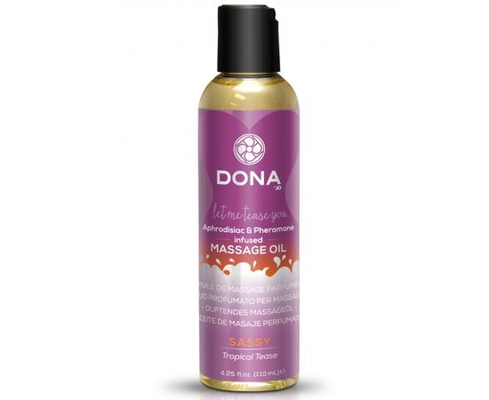 Dona aromātiska masāžas eļļa (110 ml) [ Naughty ]