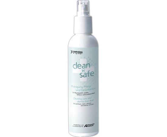 JoyDivision Clean & Safe sprejs seksa rotaļlietu tīrīšanai (100 ml & 200 ml) [ 200 ml ]
