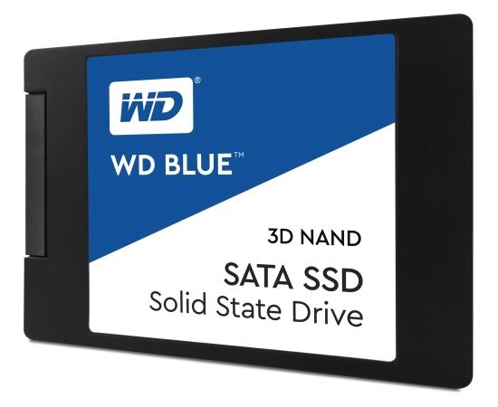 Western Digital WD Blue SSD 3D NAND 500GB 2,5inch (Ir veikalā)