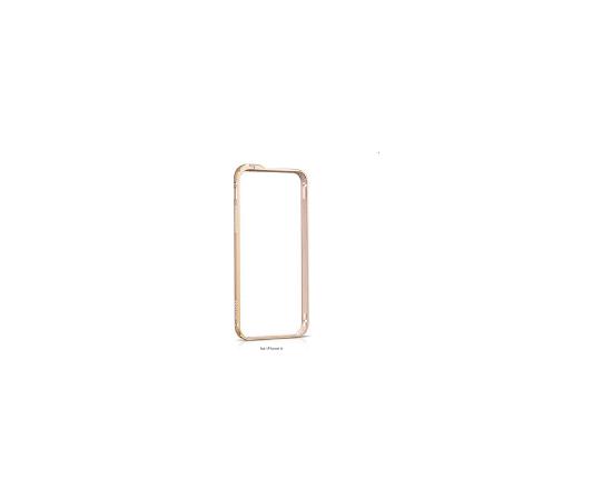 Apple iPhone 6 Metal Bumper HI-T026 HOCO gold (Ir veikalā)