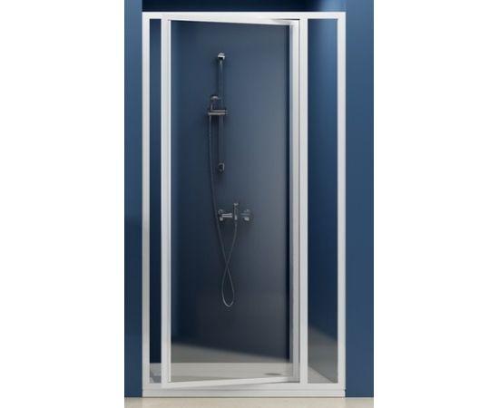 Ravak dušas durvis SDOP, 900 mm, h=1850, balts/grape stikls