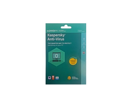 Kaspersky Antivirus Base Pamata licence 1 gads 1 datoram