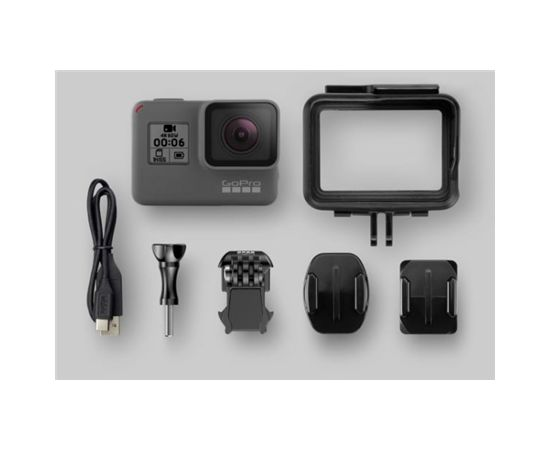GoPro HERO 6 Black Built-in display, Built-in microphone, Waterproof, Wi-Fi, Bluetooth, Full HD