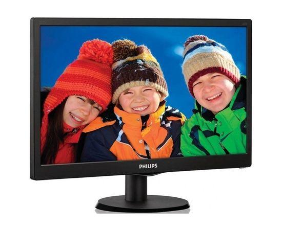 "Philips 223V5LSB/00 21.5 "", Full HD, 1920 x 1080 pixels, 16:9, LED, LCD/TFT, 5 ms, 250 cd/m², Black"