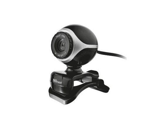 Trust webcam Exis, usb black/silver