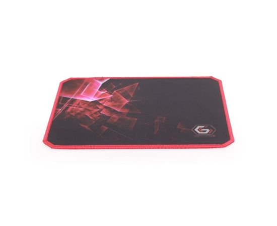 Gembird MP-GAMEPRO-S Gaming mouse pad, Black, natural rubber foam + fabric, 200x250x3 mm