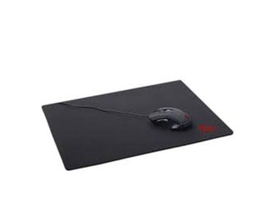 Gembird MP-GAME-M Gaming mouse pad, Black, natural rubber foam + fabric, 250x350x3 mm