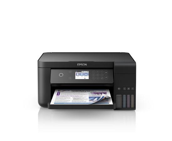 Epson All-in-One Ink Tank Printer   L4160  Colour, Inkjet, Cartridge-free printing, A4, Wi-Fi, Black
