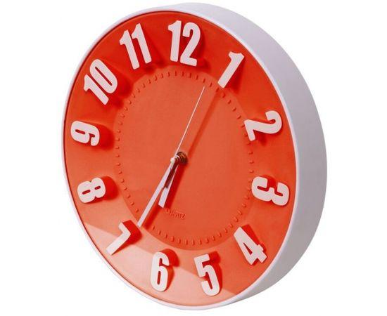 Platinet sienas pulkstenis, sarkans (42989)