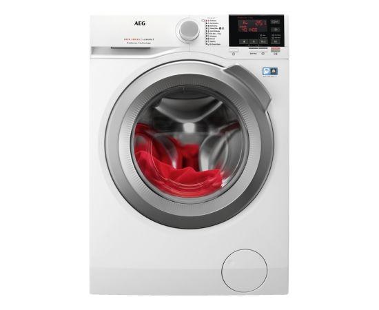AEG L6FBG48S veļas mazgājamā mašīna 8kg 1400rpm LCD