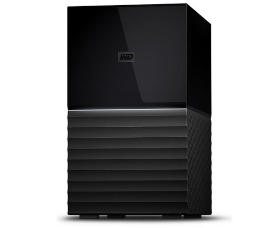 """Western Digital WD My Book 3.5"""" Dual-Drive 20TB RAID Storage 0/1 JB0D USB3.1 RTL (Ir veikalā)"""