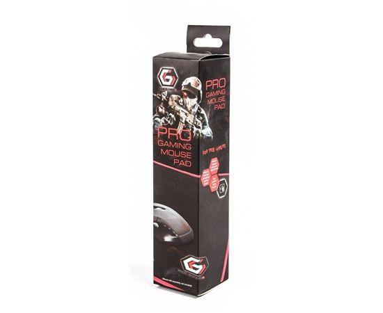 Gembird MP-GAMEPRO-M Gaming mouse pad PRO, Medium 250 x 350 x 3 mm, Black/Red