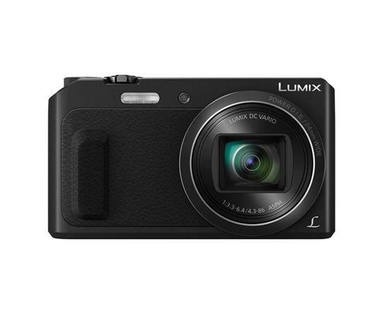 "Panasonic DMC-TZ57EP-K Compact camera, 16 MP, Optical zoom 20 x, Digital zoom 4 x, Image stabilizer, ISO 6400, Display diagonal 3.0 "", Wi-Fi, Focus 0.03m - ∞, Video recording, Lithium-Ion (Li-Ion), Black"