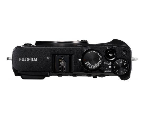 Fujifilm X-E3 korpuss, melns
