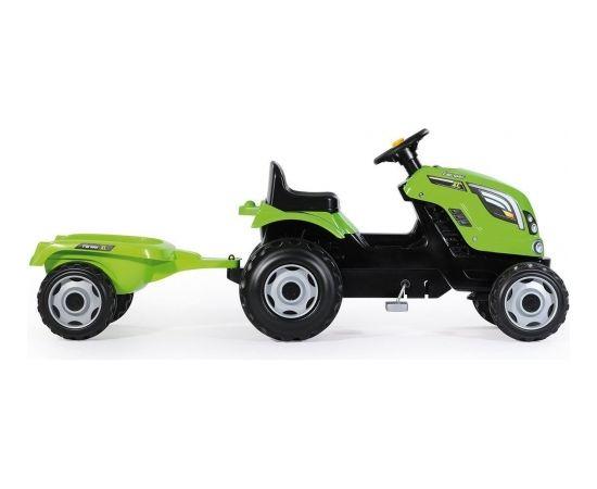 Smoby GXP-562546 Farmer XL Green Tractor + Trailer