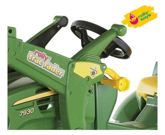 Rolly Toys Traktors ar pedāļiem rollyFarmtrac John Deere 7930 ar noņemāmo kausu 710027 ( 3 - 8 gadiem) Vācija (Ir veikalā)