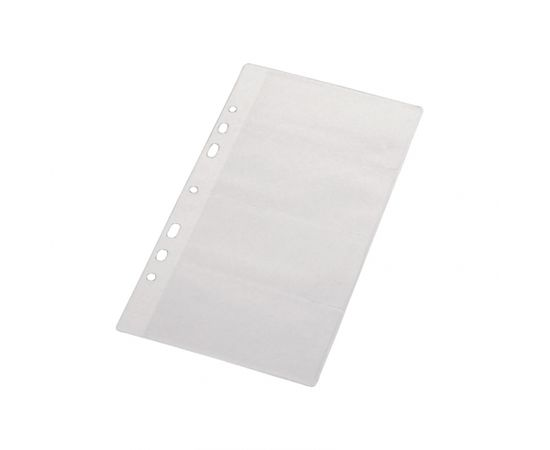 Panta Plast Ieliktņu komplekts Pantaplast vizītkaršu blokam,13x23cm, 10 gab./iepak.