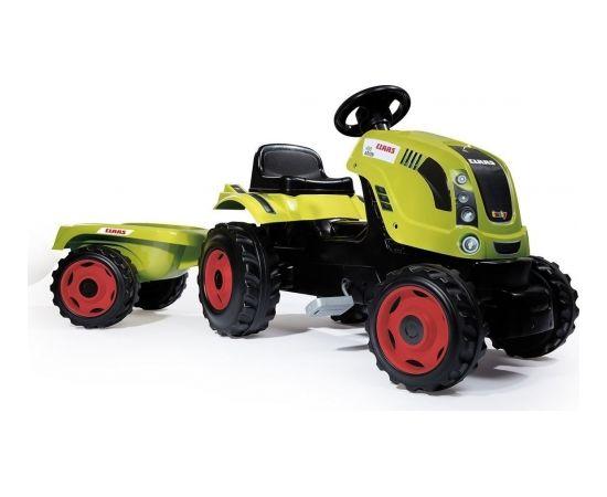 Smoby Class Traktors XL + piekabe - 7600710114