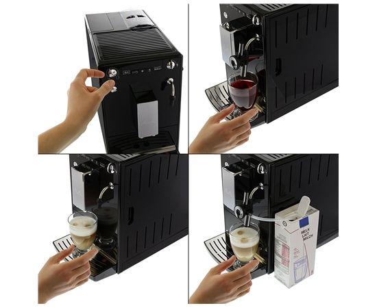 Melitta E957-101 Espresso and Cappuccino Machine Built-in, Fully Automatic, 1400W