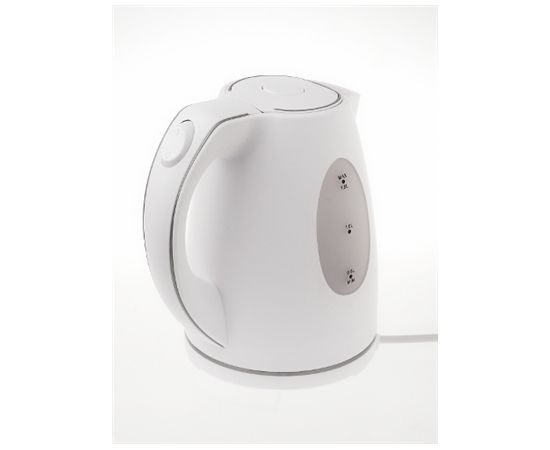 Adler AD 1207 Standard kettle, Plastic, White, 2000 W, 1.5 L, 360° rotational base