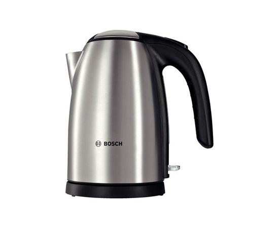 Bosch TWK7801 Standard kettle, Stainless steel, Stainless steel, 2200 W, 360° rotational base, 1.7 L