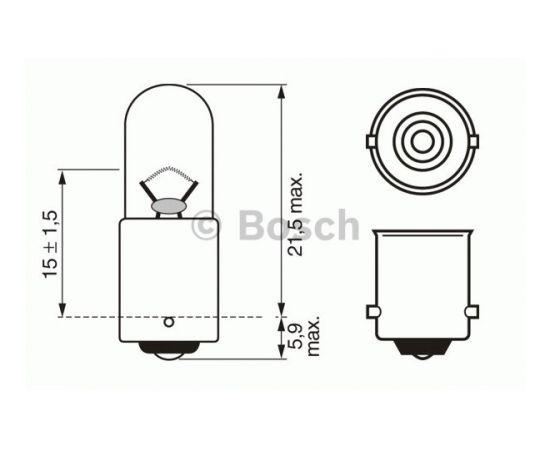 Bosch Pagrieziena rādītāja spuldze 1 987 302 207