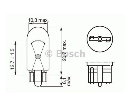 Bosch Bremžu signāla spuldze 1 987 302 206