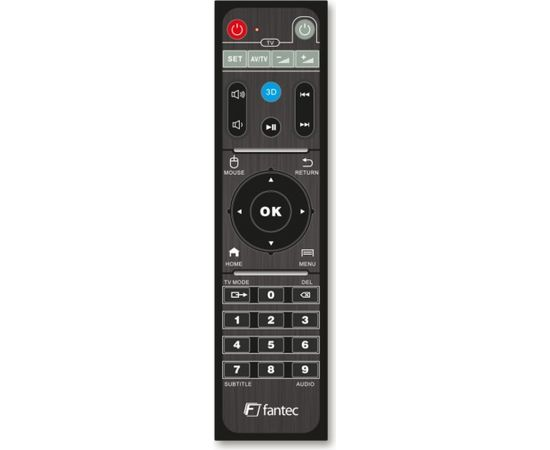 Fantec 4KP6800 4K HDR & 3D Android Smart TV Media Player W/O HDD