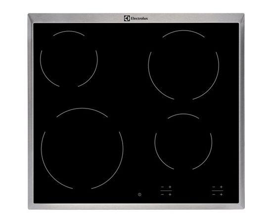 Electrolux EHF16240XK Vitroceramic, Number of burners/cooking zones 4, Black