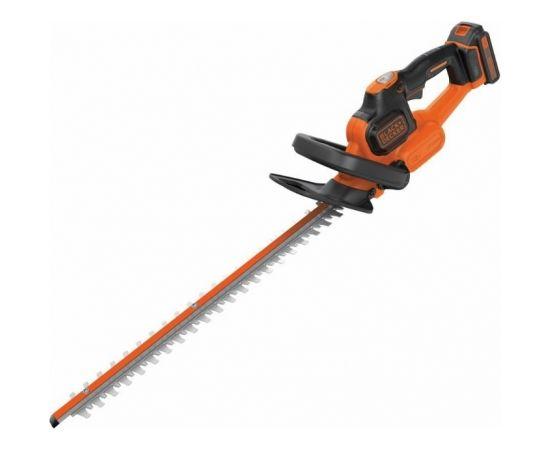 Black&decker Cordless hedge trimmer GTC18452PC / 18 V / 2 Ah / 45 cm / PC, Black+Decker