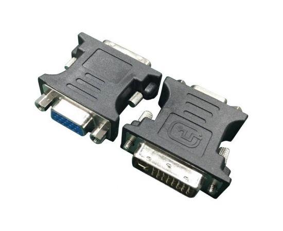 I/O ADAPTER DVI TO VGA/A-DVI-VGA-BK GEMBIRD (Ir veikalā)