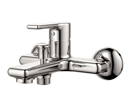 Maisītājs vannai un dušai Vento Milano, hroms, ar aksesuariem