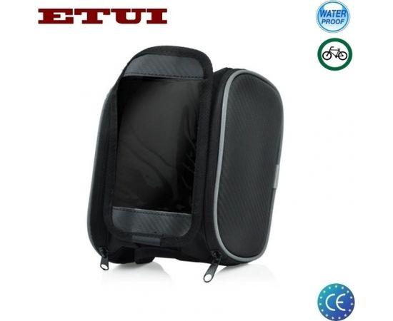 """Etui MB1 Divu Rāvējslēdža Kabatuvelo rāmja soma ar universālu (8.5x13cm) 5.5"""" Telefona Augšējās daļas Maku"""