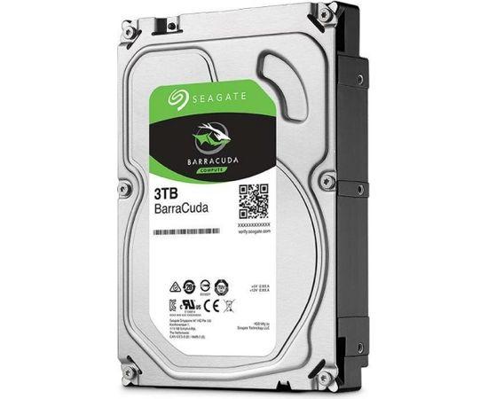 "HDD | SEAGATE | Barracuda | 3TB | SATA 3.0 | 256 MB | 5400 rpm | 3,5"" | ST3000DM007"