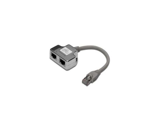 DIGITUS CAT 5e, Class D, RJ45 Patch Cable Adapter, shielded