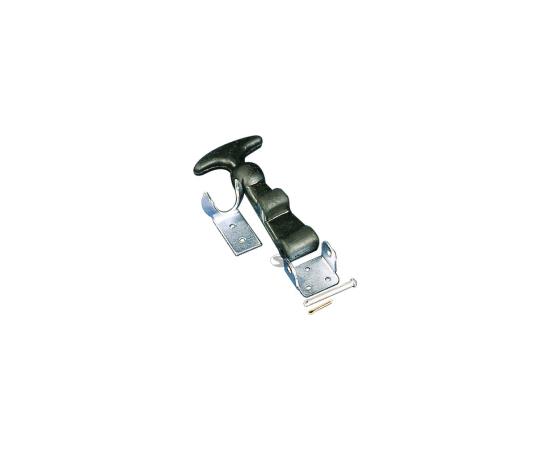 Bag.vāka stiprinājumi Sandtler Steel hood pins with rubber holder 10cm