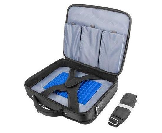 Natec Laptop Bag BOXER Black15,6'' | Anti-Shock System |
